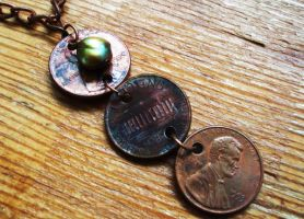 Lincoln Necklace by salvagedsword