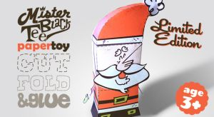 Santa Claus - paper toy by marisolivier