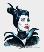 Maleficent by WanderingLola