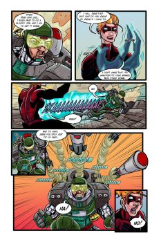 The Gamma Gals #2, Page 3 by ffnb