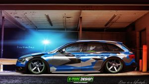 Audi A4 Allroad Quattro by x-tomi