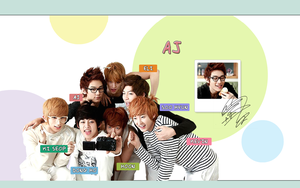 UKISS AJ Wallpaper by singthistune