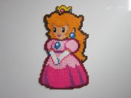 Paper Peach by 8-BitBeadsStudio