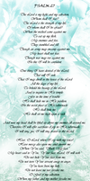 Psalm 27 by AngelLover89