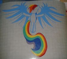 Rainbow Dash Sticker by smudo1
