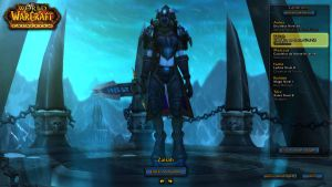 Zairah, The Draenei Death Knight (SS). by FrostQuill