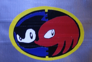 Sonic and Knuckles Logo by DuctileCreations