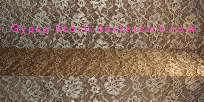 Lace Fabric Textures by Gypsy-Stock