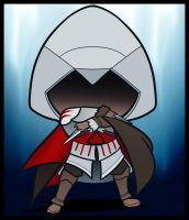 Chibi Ezio, Assassins Creed by Dragoart