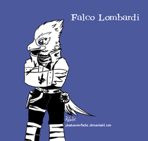 Falco Saiyuki by Pharaonenfuchs