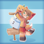 OMGitsfirefoxx - Minecraft/Mianite by PyxelStyx