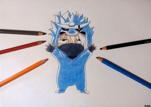CHIBI KAKASHI PERFECT SUSANO'O by NarutoDrawingChannel
