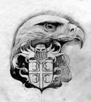 Eagle crest by ronnie38