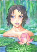 Lotus flower by AnastasiaMorning