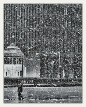 Snow and   the city by incredi