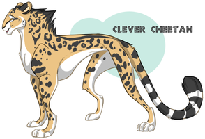 Clever Cheetah by liversnap