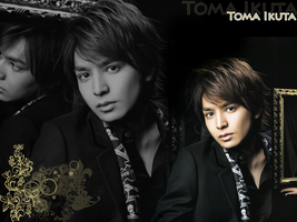 Ikuta Toma wallpaper 1024x768 by Tsukine