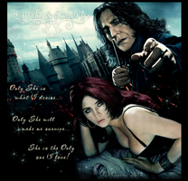 Severus+Emily-Only She is what I desire... by RedPassion