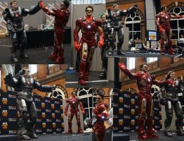 Iron Man and War Machine go to MCM Manchester by KnoxyMcKnox