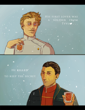 Dishonored - Curnow's romance by SarlyneART