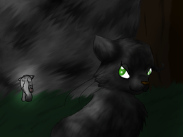 Hollyleaf is a -blank- by Moonblizzard