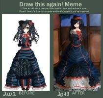 Meme  Before And After by Yokuna-chan