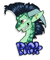 Pick The Amazing- Sticker by CoughEBeanz
