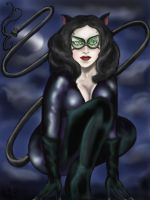 'Here Kitty, Kitty' - Catwoman by goodgirl-arcee