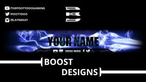 Banner Template #2 by BoostYT