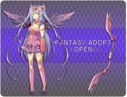 Fantasy Adopt :Open: 35usd / 3500 points ! by Aruella