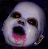 Demon Baby photoshop by costermonger
