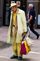 Yellow Man - Street Photography by mariokluser