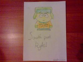 South Park Kyle by jessyho862010