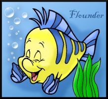 Flounder by BlueFlame49