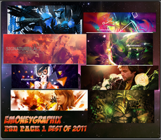 PSD Pack 1: Best of 2011 by eMoneyGraphix