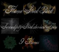 Fractal Flame Stock Pack by SerendipityStock