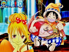 luffy x nami by BellaNamiHeartScarle