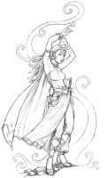 Sorceress by staino