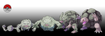 074 - 076 Geodude line by InProgressPokemon