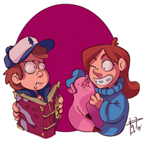 Gravity Falls! by LordOfGazelles