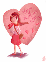 Valentine's day card by Giant-cheeseburger