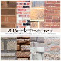 Brick Textures by StockRush