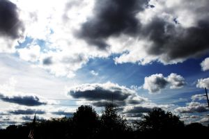 Clouds XVII by fivepi0nt