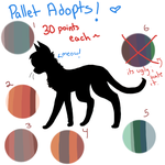 Pallet adopts! (Open) by PeachAdopts