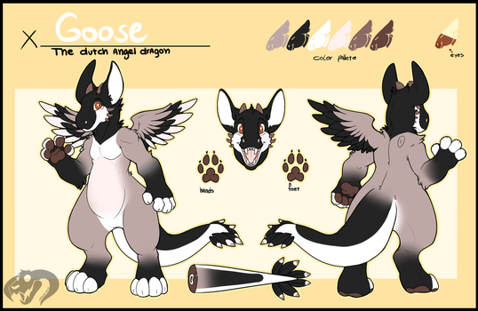 Goose Angel Dragon - SOLD by TheFrizzyKitten