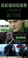 Legolas can do it better... Maybe? by Faerietopia