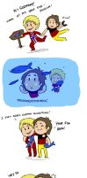 SatW fancomic FUN WITH FISH by kamidog