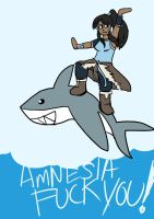 Korra Jumped the Shark by starlightv