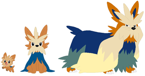 Lillipup, Herdier and Stoutland Base