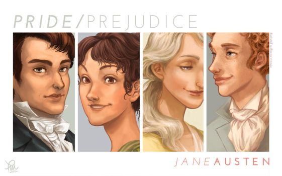 Pride and Prejudice by flominowa